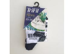 Meia Menino com antiderrapante -  Trifil