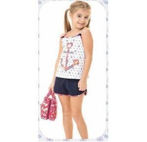 Short Doll Infantil Feminino