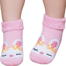 Meia Baby Confort Desenhada Coelhinha - Puket