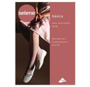 Meia Calça Infantil Fio 20 Basica Selene