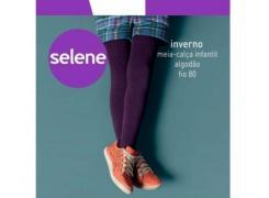 Meia Calça Infantil Algodão Fio 80 - Selene