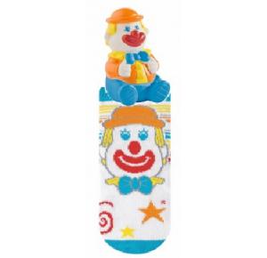 Meia Bebe com brinquedo mordedor - Selene